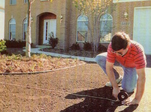 Measuring your planned lawn and ordering the sod